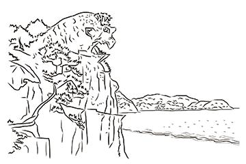熊野 獅子岩